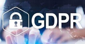 GDPR - Cadeado representando mais segurança dos dados