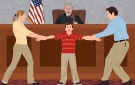 Divórcio com filho menor