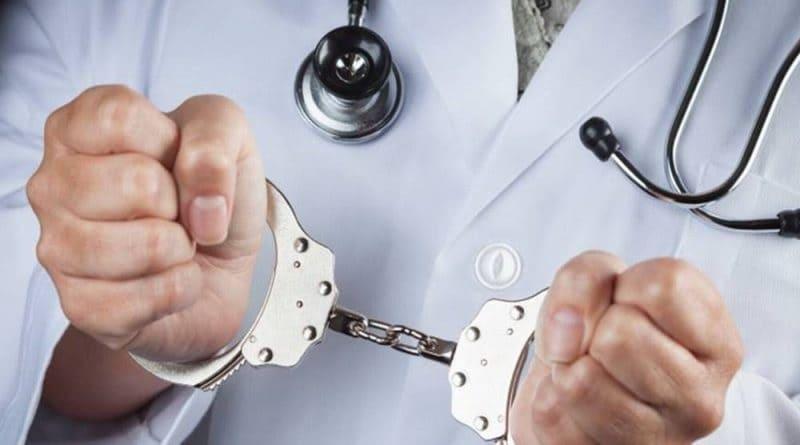 Médico algemado - Responsabilidade criminal em erro médico